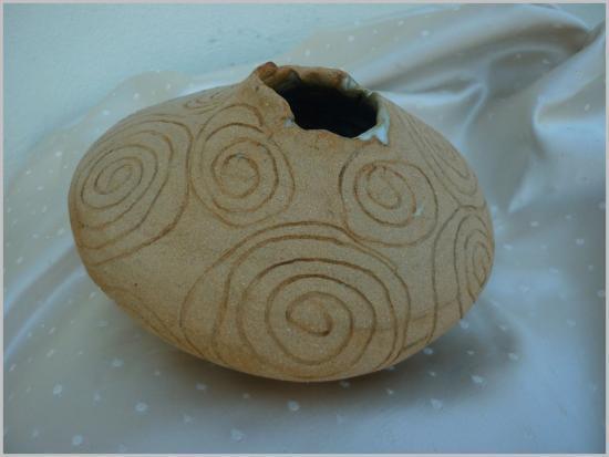 Vase contemporain de Paty